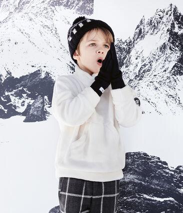 Sweatshirt polaire moutonné enfant garçon