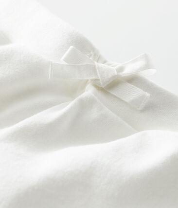 Short enfant fille blanc Marshmallow