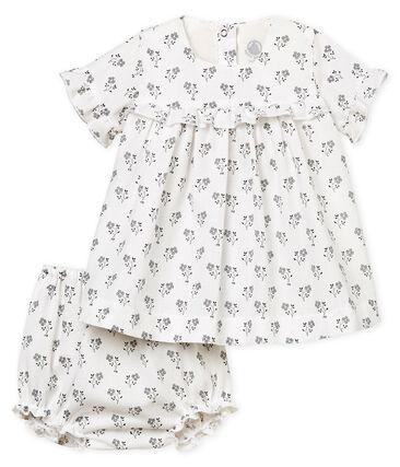 Robe imprimée et bloomer bébé fille