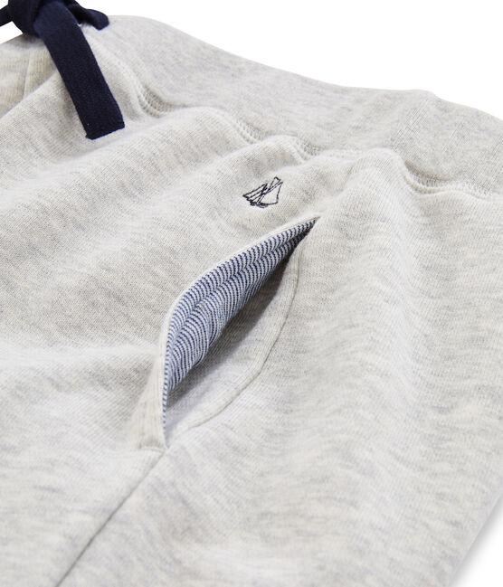 Pantalon molleton enfant garcon gris Gris