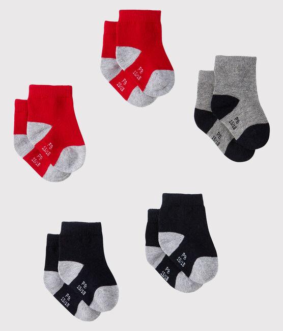 Lot de 5 paires de chaussettes bébé lot .