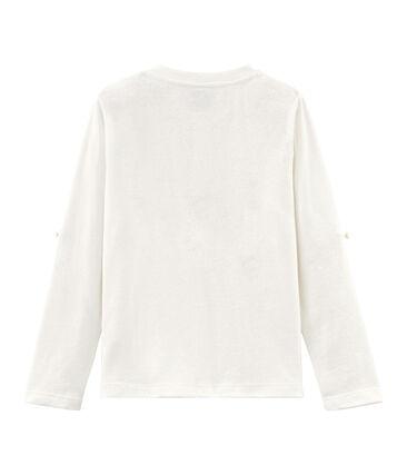 Tee-shirt enfant garcon blanc Marshmallow