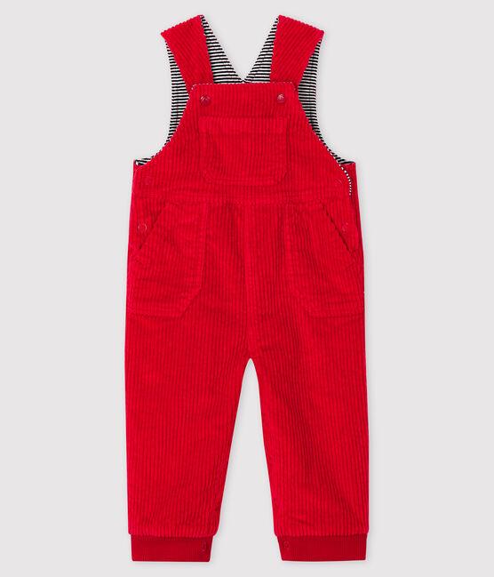 Salopette longue bébé garçon rouge Terkuit