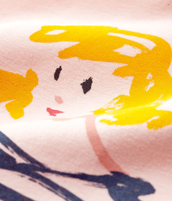 Tee-shirt manches courtes enfant fille MINOIS