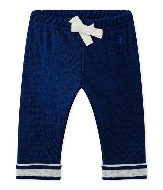 Pantalon bébé garçon bleu Medieval