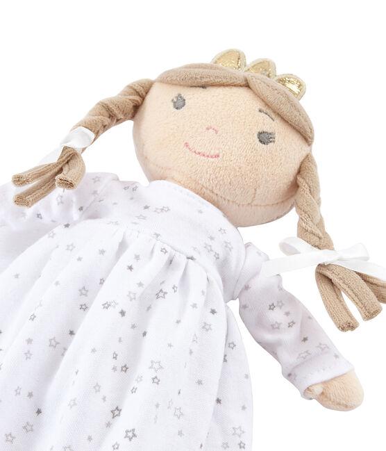 Poupée petite fille blanc Marshmallow / blanc Multico