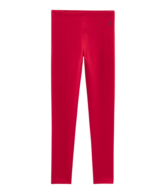 Legging enfant fille rouge Terkuit