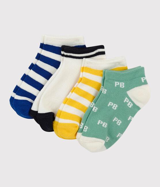 Lot de 5 paires de chaussettes basses enfant garçon lot .