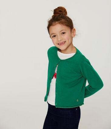 Cardigan tricot enfant fille