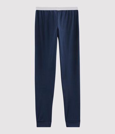 Pantalon de pyjama homme en côte | Petit Bateau