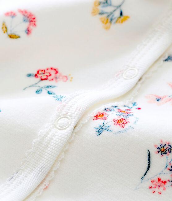 Dors bien bébé fille blanc Marshmallow / blanc Multico