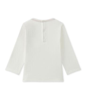 T-shirt bébé garçon uni blanc Marshmallow