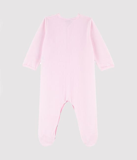 Dors-bien bébé fille en velours rose rose Vienne