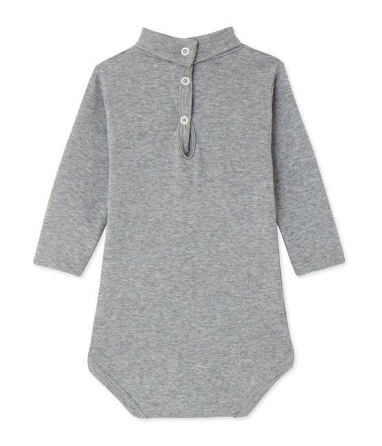 Body col roulé bébé mixte gris Subway