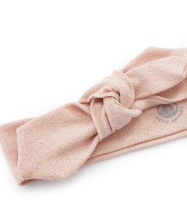 Bandeau enfant fille bleu Bocal / rose Copper