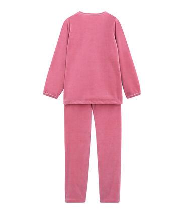 Pyjama petite fille rose Cheek