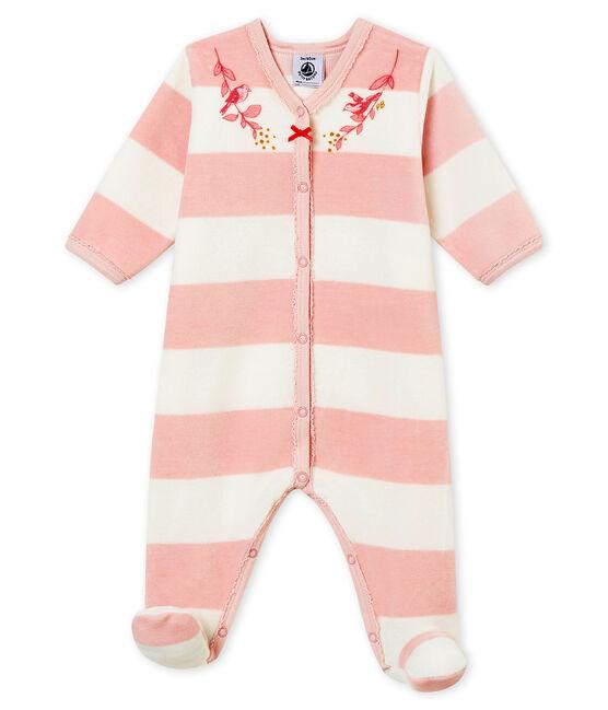 Dors bien bébé fille rose Joli / blanc Marshmallow