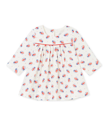 Robe bébé fille en tubique imprimé