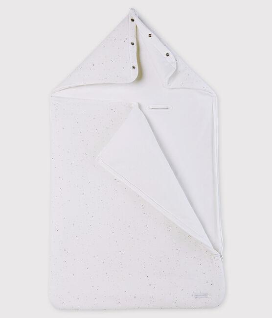 Nid d'ange blanc bébé en tubique en coton biologique blanc Marshmallow