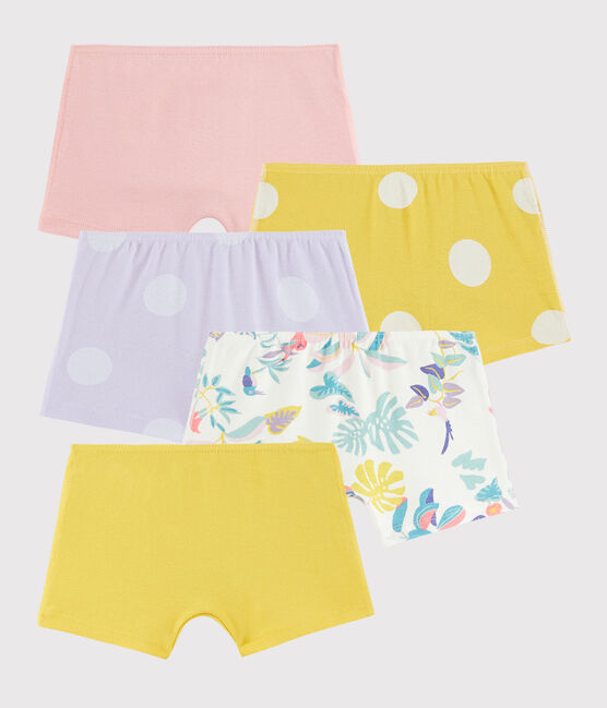 Lot de 5 shorties petite fille lot .