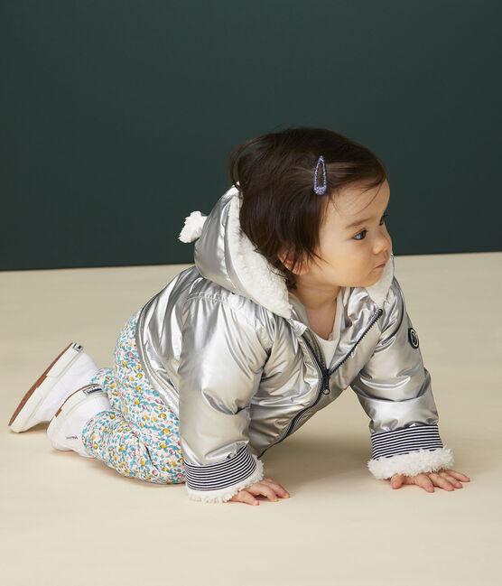 Ciré chaud bébé fille/garçon gris Argent
