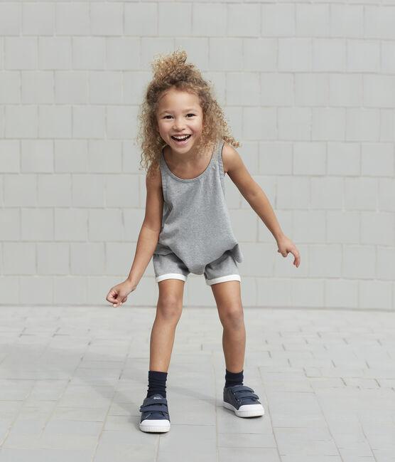 Débardeur de sport enfant fille gris Subway