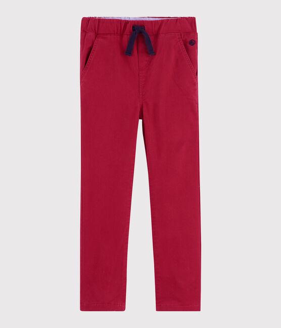 Pantalon chaud enfant garçon rouge Terkuit