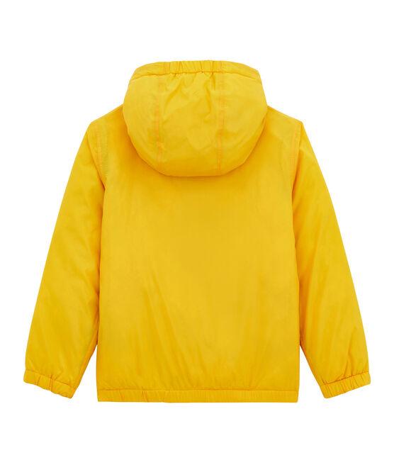 Coupe-vent chaud reversible enfant jaune Jaune