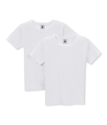 Lot de 2 t-shirts garçon unis