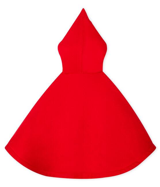 Cape bébé mixte rouge Terkuit