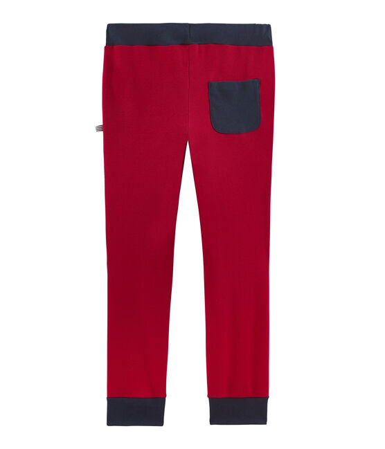 Jogging en côte enfant garçon rouge Terkuit