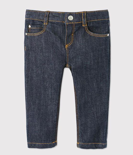 Pantalon slim bébé garçon en jean bleu Jean