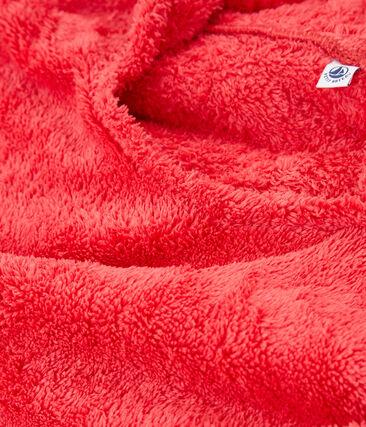 Poncho de plage bébé mixte rose Groseiller