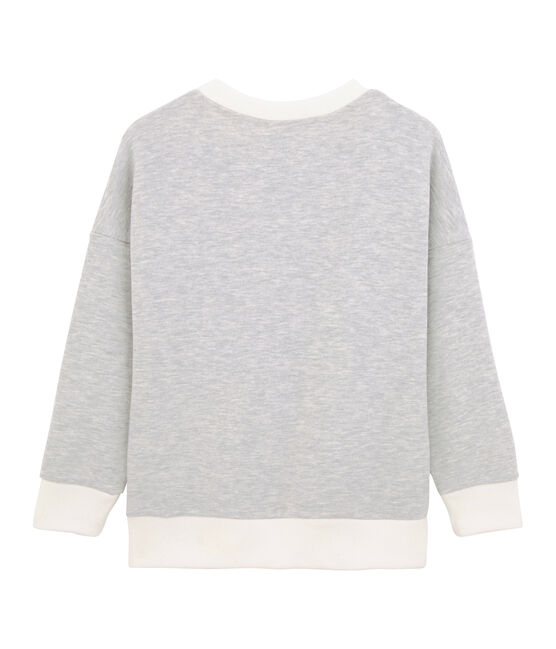 Sweat shirt enfant garçon gris Beluga