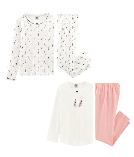 Lot de 2 pyjamas petite fille lot .