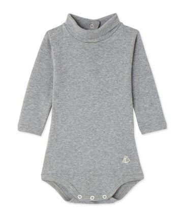 Body bébé à col roulé gris Subway Chine