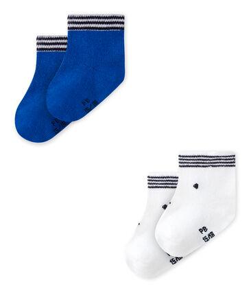 Lot de 2 paires de chaussettes bébé mixtes