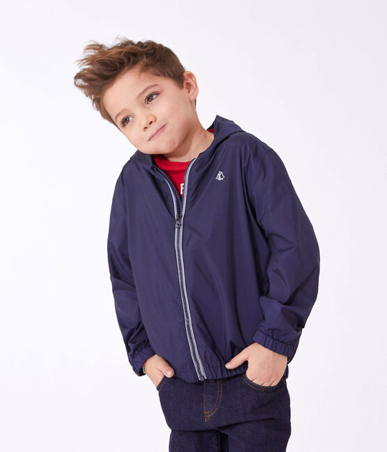 Coupe-vent enfant bleu Smoking