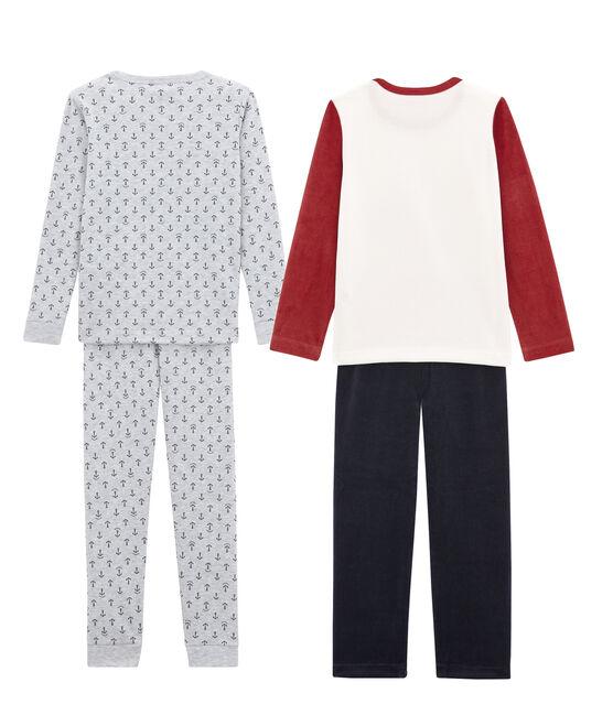 Lot de 2 pyjamas chauds petit garçon lot .