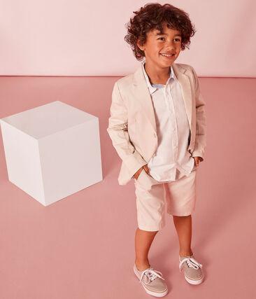 Veste enfant garçon blanc Feta