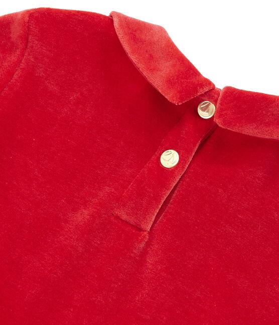Robe enfant fille rouge Terkuit