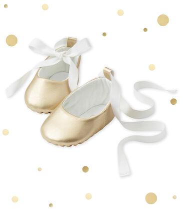 Chaussons ballerines bébé fille