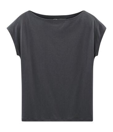 Tee-shirt manches courtes femme en coton sea island