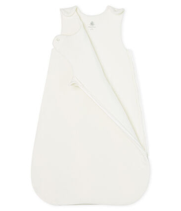 Gigoteuse bébé en velours blanc Marshmallow