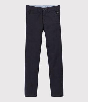 Pantalon enfant garçon bleu Smoking