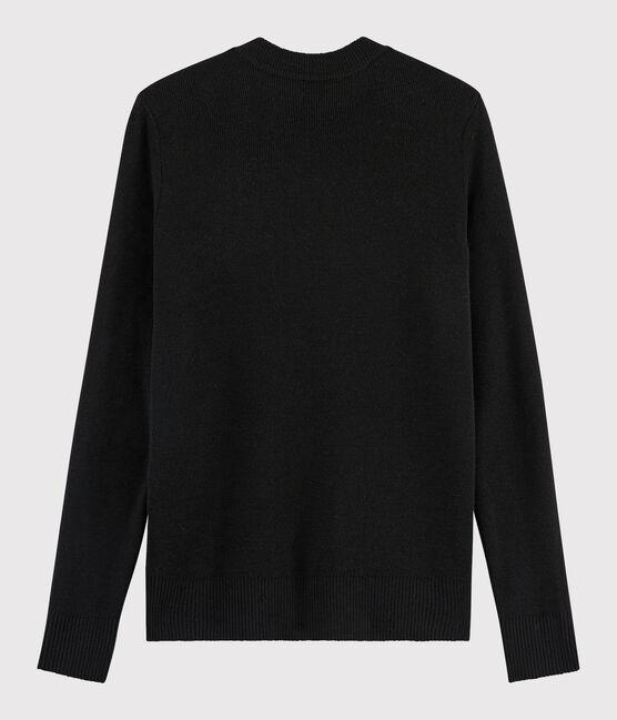 Pull laine Femme noir Noir