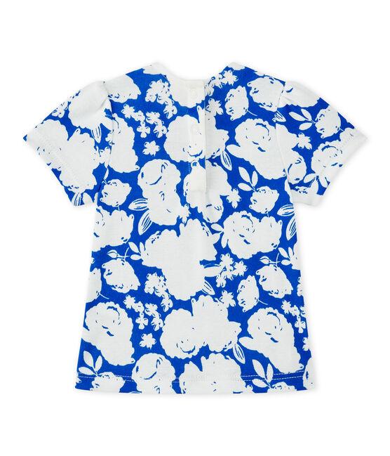 Tee-shirt bébé fille imprimé blanc Marshmallow / blanc Multico