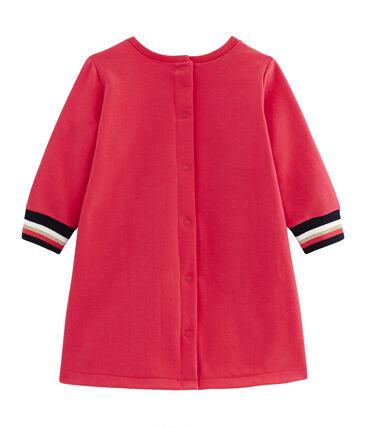 Robe manches longues bébé fille rouge Signal