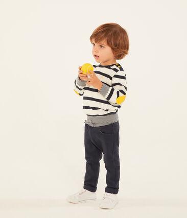 Pantalon bébé garçon en maille unie