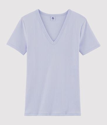Tee shirt iconique femme violet Nevoa
